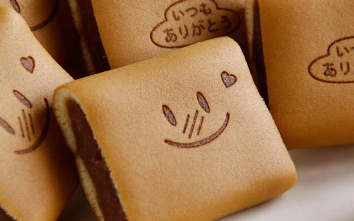 バレンタイン限定の和菓子 笑小巻 イメージ2