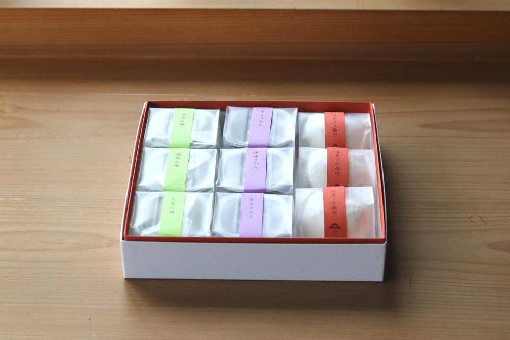 和菓子のお詰合せ ギフトセット